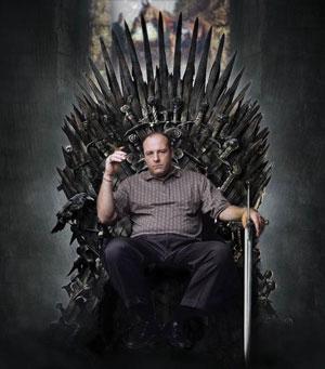 Gandolfini Thrones