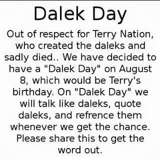 Dalek Day – 2013