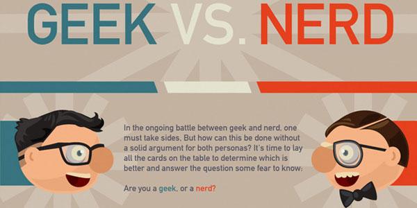 The Geek vs. Nerd Debate