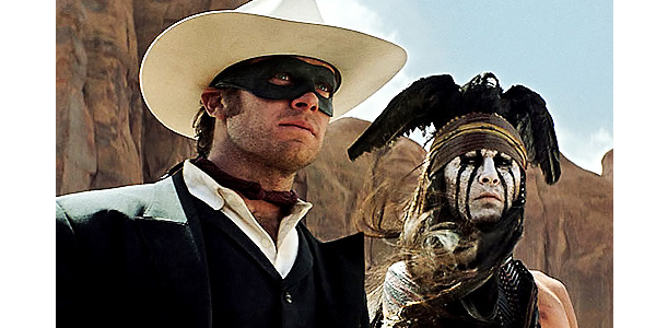 "Hammer, Depp Blame Critics for ""Lone Ranger"" Failure"