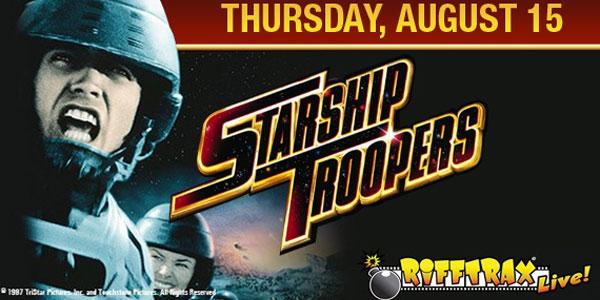 RiffTrax: Starship Troopers