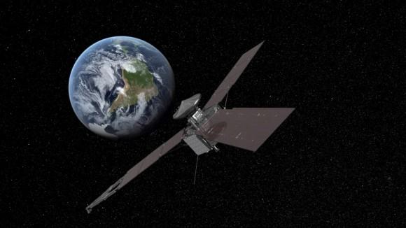 Juno approach: credit: NASA/JPL