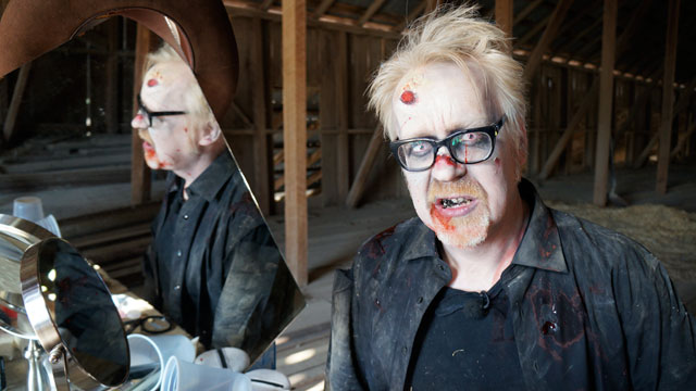 Adam Savage. Zombie.