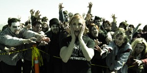 Kari Byron and Zombies