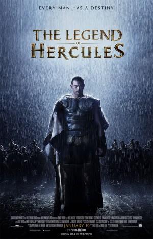 Legend of Hercules 3D - One Sheet