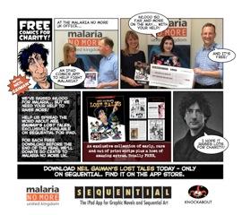 Neil Gaiman Comics for Charity