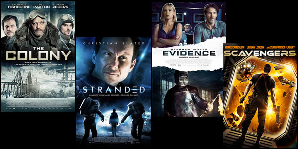 Holiday Giveaway: Sci-Fi & Horror DVD Gift Pack
