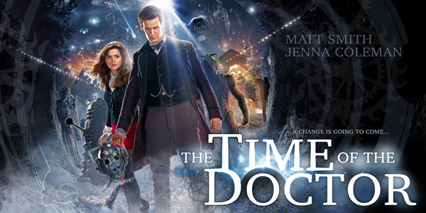 """The Time of the Doctor"": Doctor Who Christmas Special Posters"