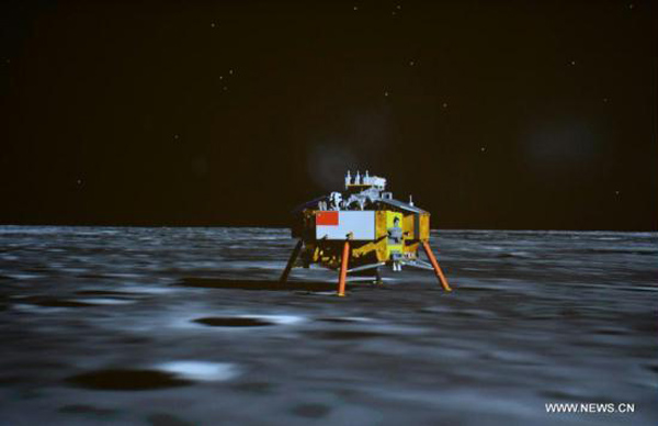 China On the Moon