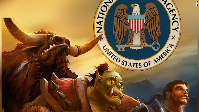 Spy Agencies Monitoring On-Line Gaming