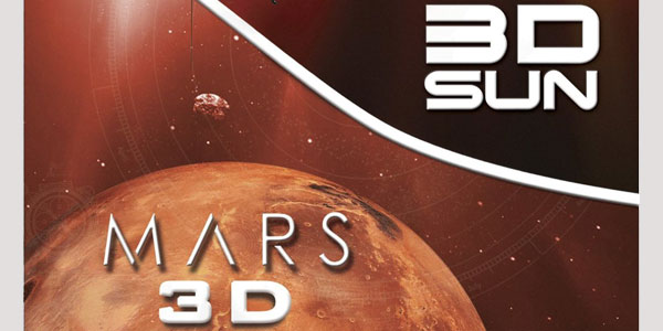 """3D Sun / Mars 3D"" — A Slice of SciFi Blu-ray Review"