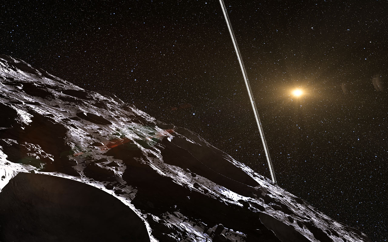 Ringed Asteroid Discovered