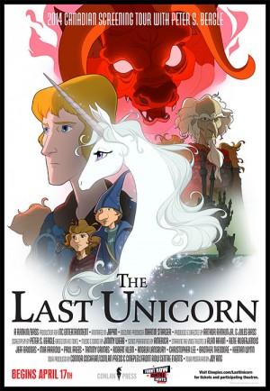 Last Unicorn Canada poster