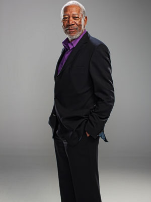 """Morgan Freeman """"Through the Wormhole"""""""