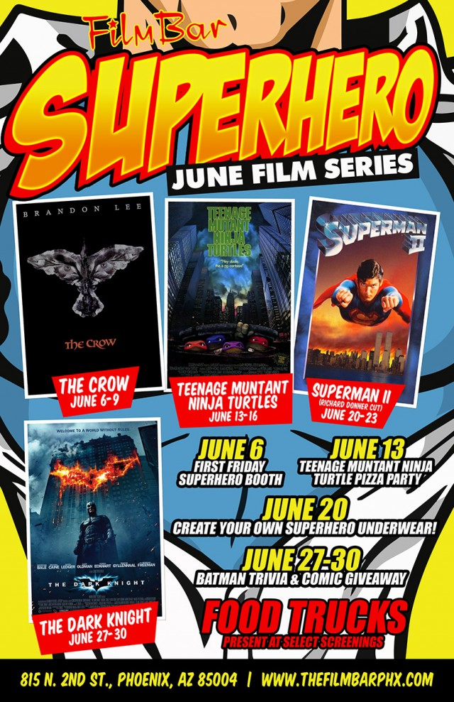 Superhero June Film Series