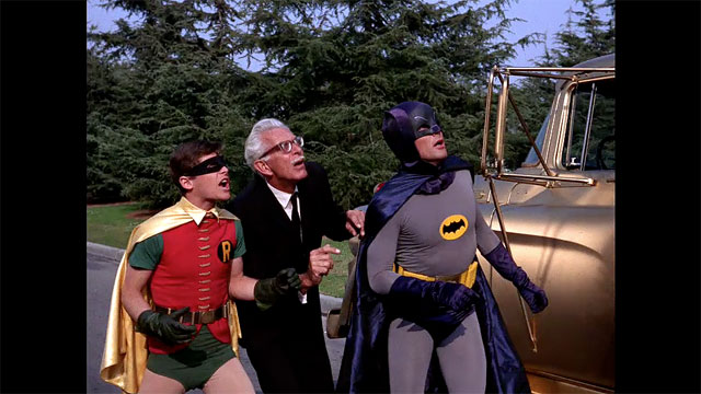Batman, Robin and Alfred