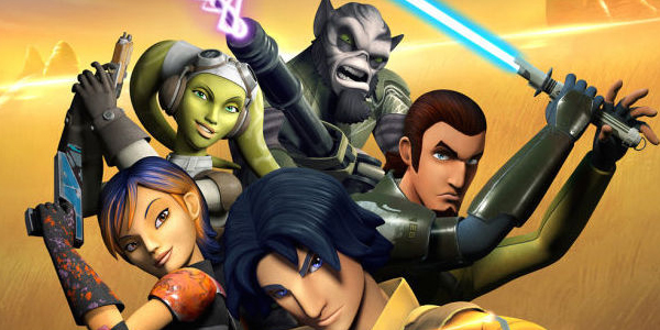 The Heroes of Star Wars Rebels at San Diego Comic-Con!