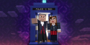 Doctor Who in Minecraft