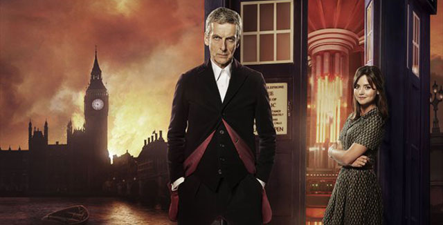 Doctor Who: Capaldi and Coleman