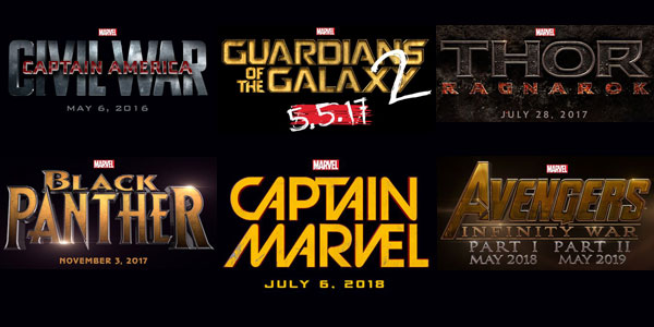 Marvel Unveils Cinematic Universe Phase 3 Films