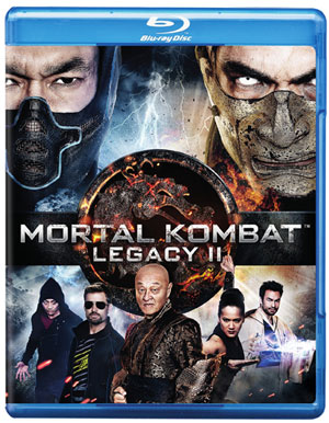Mortal Kombat Legacy II Box Art