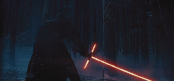 """Star Wars: The Force Awakens"" Official Teaser The Dark Side ... and ... The Light"