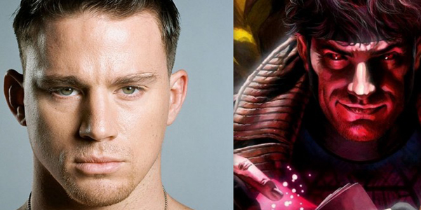 "X-Men's ""Gambit"" To Get Solo Film Channing Tatum signs to star as the card throwing superhero"