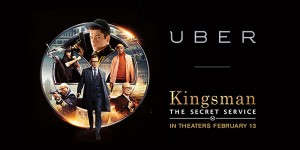 Kingsman / Uber sweepstakes