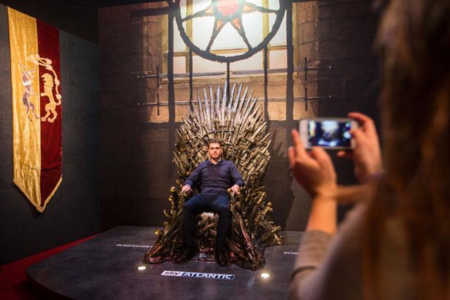 GOT Exhibit Iron Throne