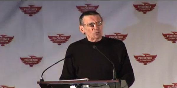 Watch it Again: Leonard Nimoy at Phoenix Comicon 2011
