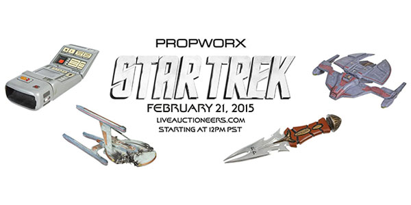 "<span class=""entry-title-primary"">""Star Trek"" Props: Online Auctions Begin Feb 21</span> <span class=""entry-subtitle"">Two more Propworx auctions of Trek props scheduled in May and August</span>"