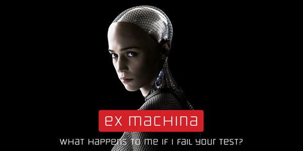 "<span class=""entry-title-primary"">Reviewing ""Ex Machina""</span> <span class=""entry-subtitle"">The attraction is the focus on the ideas of science fiction over action spectacle</span>"