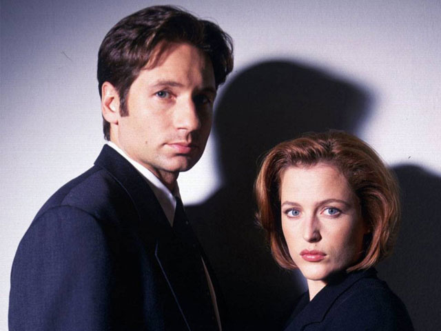 X-Files: Mulder and Scully