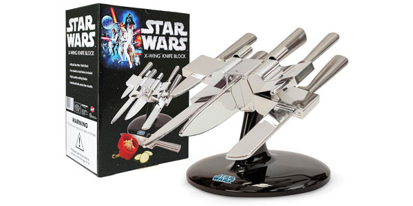"<span class=""entry-title-primary"">The Force is Strong with this Chef</span> <span class=""entry-subtitle"">Star Wars X-Wing Knife Block is Ultimate Movie Fan Kitchen Accessory</span>"