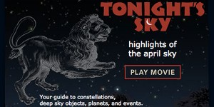 Tonight's Sky: April