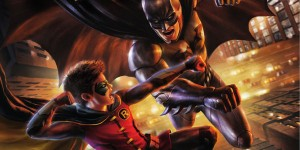Batman vs Robin DVD Cover