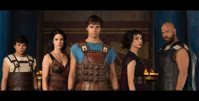 Olympus: cast