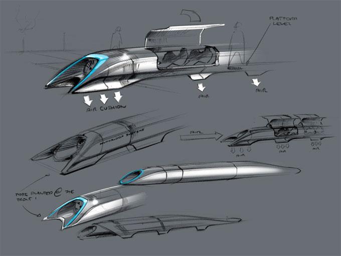 Hyperloop concept