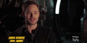 """<span class=""""entry-title-primary"""">Aaron Ashmore: """"Killjoys"""" Down and Dirty</span> <span class=""""entry-subtitle"""">Loyalties and secrets tie the Killjoys together through the good times and rough times</span>"""