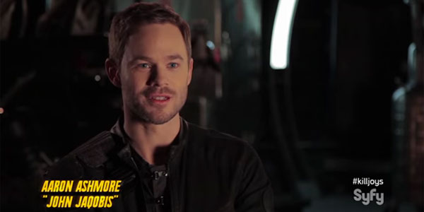"Aaron Ashmore: ""Killjoys"" Down and Dirty Loyalties and secrets tie the Killjoys together through the good times and rough times"