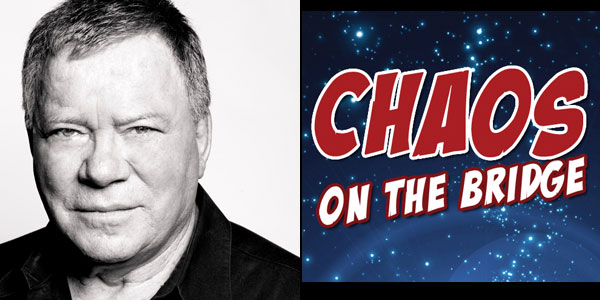 "Shatner Will Answer Fan Questions about ""Chaos on the Bridge"" ""Star Trek: The Next Generation"" documentary releases August 1 in US"