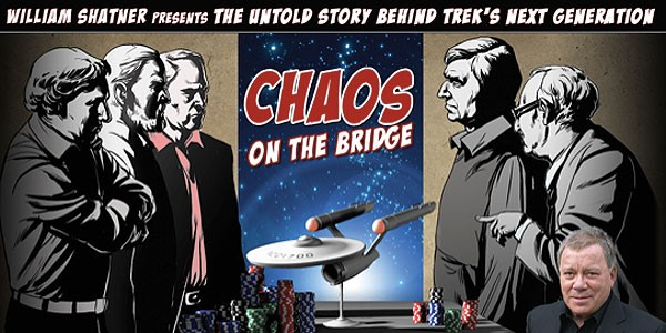"<span class=""entry-title-primary"">Geek Talk: William Shatner Presents ""Chaos on the Bridge""</span> <span class=""entry-subtitle"">A lively discussion about the enlightening new ""Star Trek: The Next Generation"" documentary</span>"