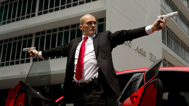 "<span class=""entry-title-primary"">Reviewing ""Hitman: Agent 47""</span> <span class=""entry-subtitle"">Typical but enjoyable action thriller is a visually stunning guilty pleasure</span>"
