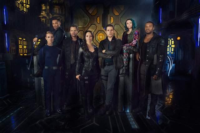 Dark Matter cast photo