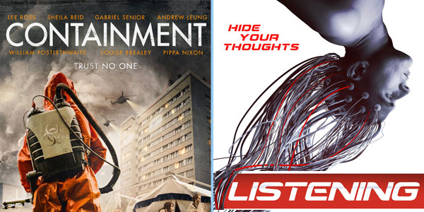 """Movie Talk: Indie Scifi Feature Films Interviews & Talk about """"Listening"""", """"Containment"""" and more"""