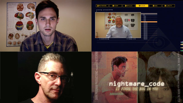 """Mark Netter: The Machine, The Ghost, and """"Nightmare Code"""" What happens when the program starts hacking the coders?"""