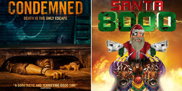 "Independent Horror Features: ""Condemned"" & ""Infinite Santa 8000"" A double interview feature on independent horror films coming to theaters and online outlets"