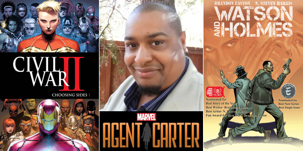 "<span class=""entry-title-primary"">Brandon Easton: Writing the Worlds We Want to Live In</span> <span class=""entry-subtitle"">Enjoying science fiction and fantasy from the perspectives of black writers and black fans</span>"