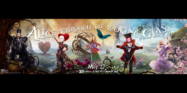 "<span class=""entry-title-primary"">Reviewing ""Alice Through the Looking Glass""</span> <span class=""entry-subtitle"">More of the same isn't always a good thing</span>"