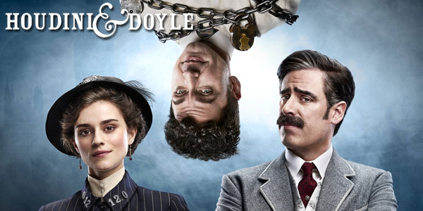 "5 Episodes In: ""Houdini & Doyle"" Fox's Victorian take on ""The X-Files"" has charm despite the historical ""liberties"""